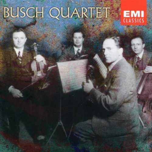 Busch Quartet - Beethoven, Schubert, Mendelssohn (4 CD, FLAC)