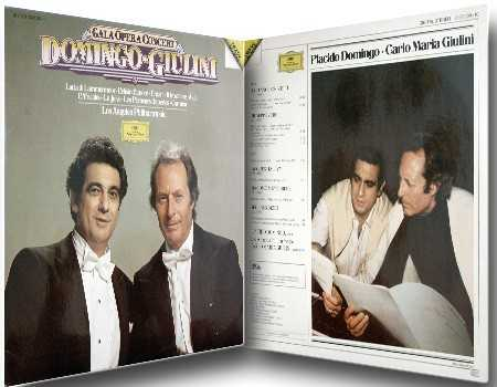 Domingo, Giulini - Gala Opera Concert (24bit/192kHz, LP, FLAC)
