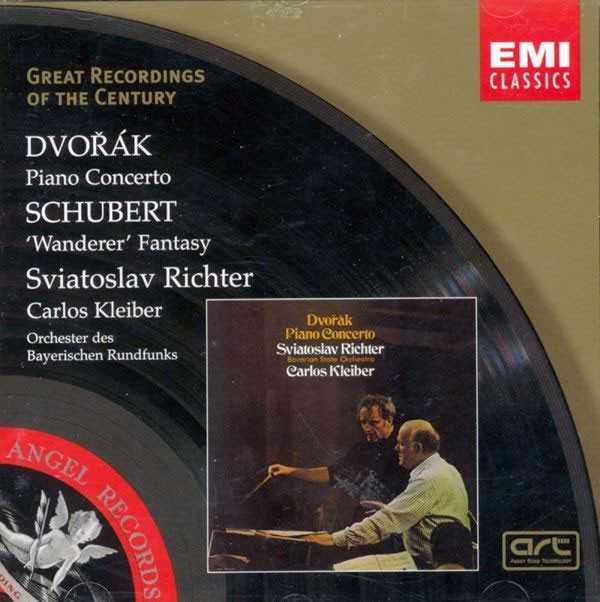 Richter, Kleiber: Dvořák - Piano Concerto, Schubert - Wanderer Fantasy (FLAC)