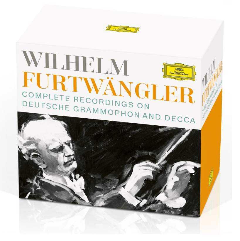 Wilhelm Furtwangler - Complete Recordings on Deutsche Grammophon and Decca (34 CD box set, FLAC)