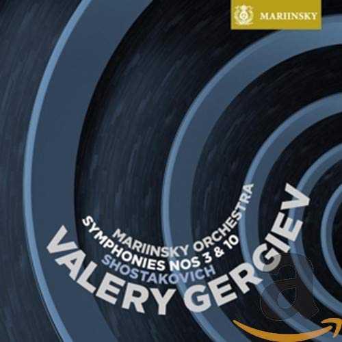Shostakovich: Symphonies Nos. 3 & 10 (SACD, ISO)