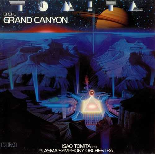 Tomita: Grofe - Grand Canyon suite (24/96, LP, FLAC)
