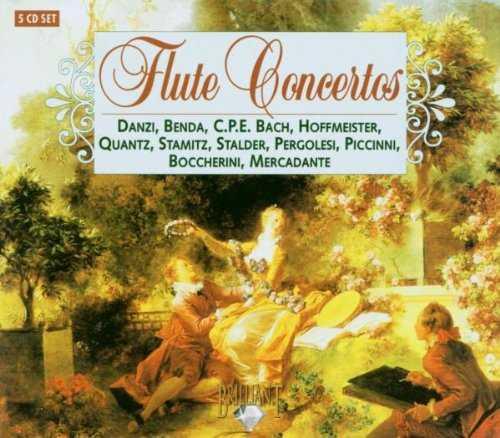 Flute Concertos (5 CD box set, APE)