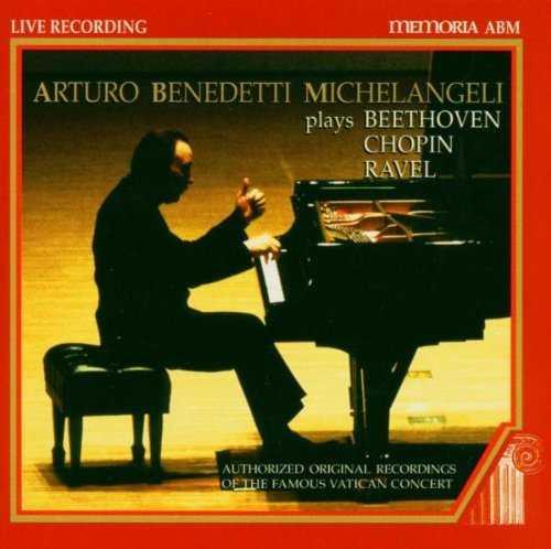 Michelangeli - The Vatican Recordings (4 CD box set, APE)