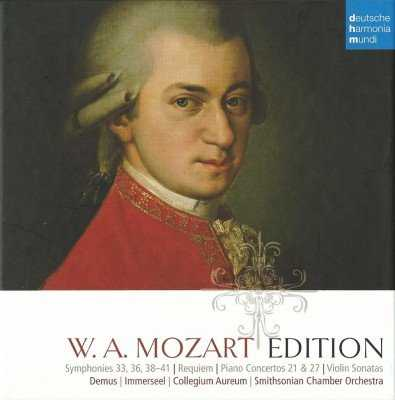W.A. Mozart Edition (10 CD box set, FLAC)