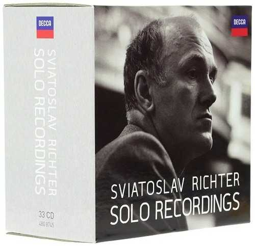 Richter - Solo Recordings (33 CD box set, APE)