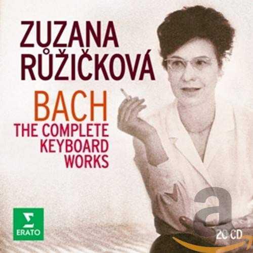 Růžičková: Bach - The Complete Keyboard Works (20 CD box set, FLAC)