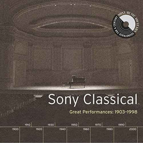 Sony Classical - Great Performances 1903-1998 (4 CD box set, FLAC)