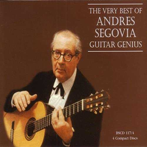 The Very Best of Andres Segovia - Guitar Genius (24bit/44kHz, FLAC)
