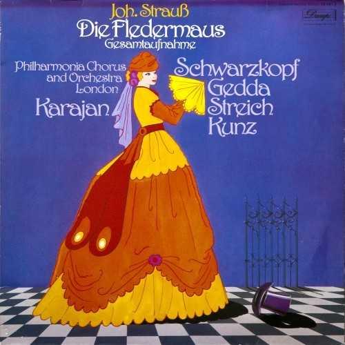 Karajan: Johann Strauss II – Die Fledermaus (24/96, FLAC)