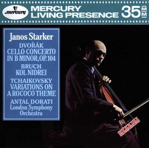 Dvorak - Cello Concerto In B Minor, op.104, Bruch - Kol Nidrei, Tchaikovsky - Variations On A Rococo Theme (APE)