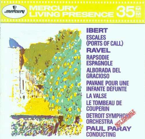 Ibert - Escales, Ravel - Rapsodie (APE)