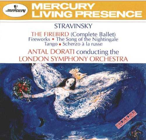 Stravinsky - The Firebird, Fireworks, The Song of the Nightingale, Tango, Scherzo à la russe (APE)