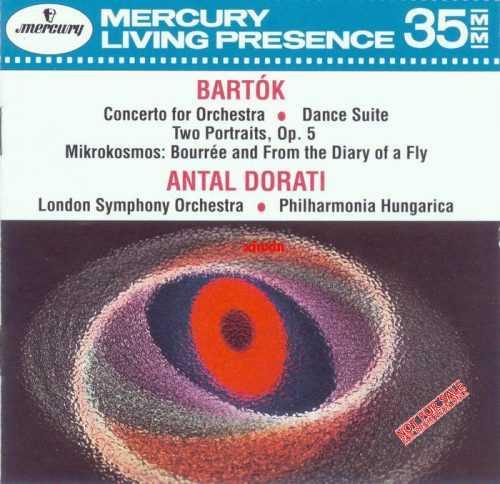 Dorati: Bartok - Concerto for Orchestra, Dance Suite, Two Portraits op.5, Mikrokosmos (APE)