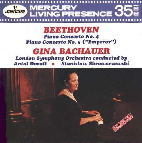 Bachauer: Beethoven - Piano Concertos no.4, 5 (APE)