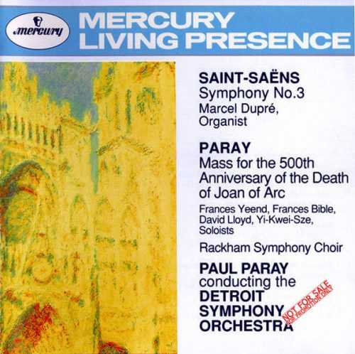 Saint-Saens - Symphony no.3, Paray - Mass for the 500th Anniversary of the Death of Joan of Arc (APE)