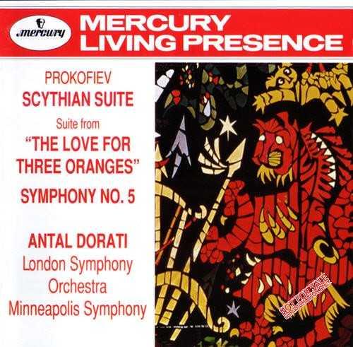 Dorati: Prokofiev - Scythian Suite; Love for Three Oranges; Symphony no.5 (APE)