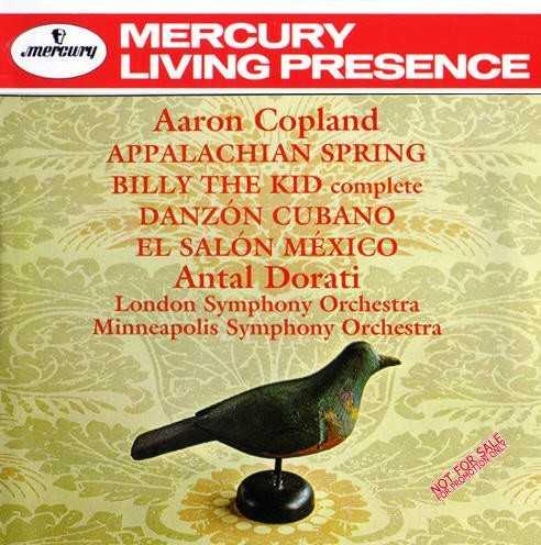 Dorati: Copland - Appalachian Spring; Billy the Kid; Danzon Cubano; El Salon Mexico (APE)