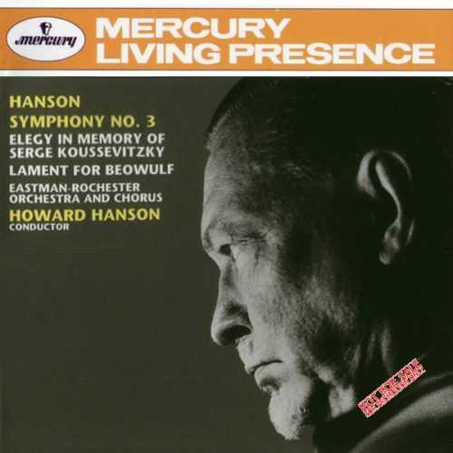 Hanson: Symphony no.3; Elegy; The Lament for Beowulf (APE)