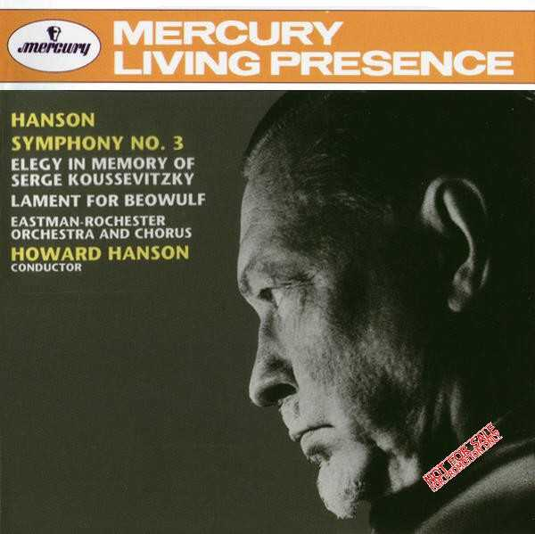 Hanson: Symphony no.3; Elegy; The Lament for Beowulf (APE)