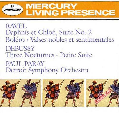 Paray Conducts Ravel & Debussy (APE)