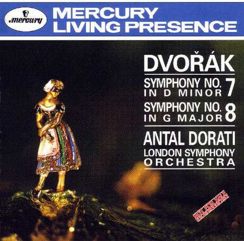Dorati: Dvorak - Symphonies no. 7,8 (APE)