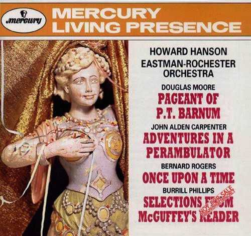 Howard Hanson Conducts - Moore, Carpenter, Rogers, Phillips (APE)
