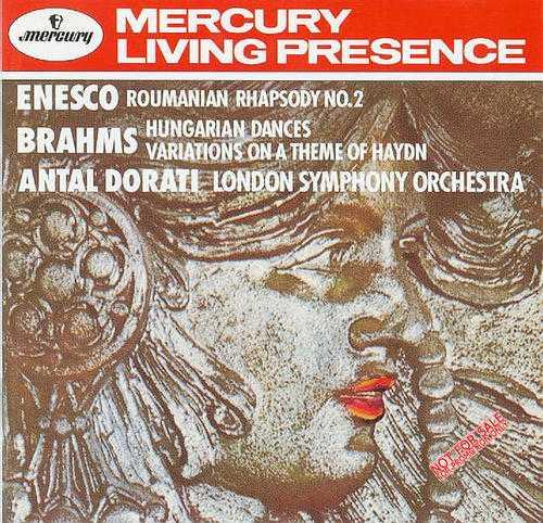 Enesco - Romanian Rhapsody No. 2; Brahms - Hungarian Dances, Variations on a Theme of Haydn (APE)