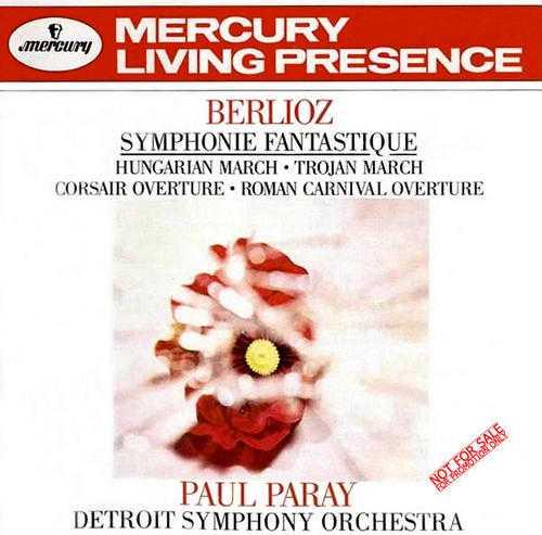Berlioz: Symphonie Fantastique, Hungarian March, Corsair Overture, Roman Carnival Overture (APE)