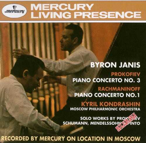 Janis: Prokofiev - Piano Concerto no.3, Toccata  op.11,26; Rachmaninov - Piano Concerto no.1; Schumann; Mendelssohn - Pinto (APE)