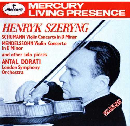 Schumann - Violin Concerto in D Minor; Mendelssohn - Violin Concerto in E Minor (APE)