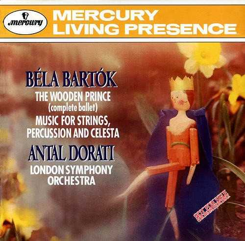 Bartok: The Wooden Prince, Music for Strings, Percussion and Celesta (APE)