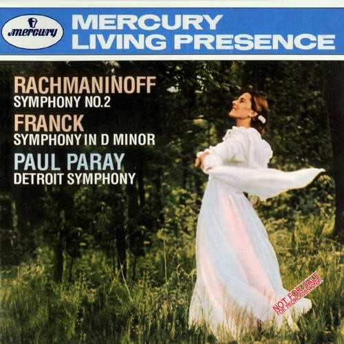 Paray: Franck - Symphony in D, Rachmaninov - Symphony no.2 (APE)