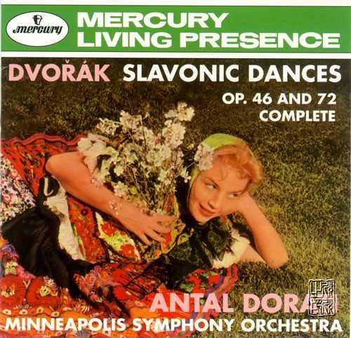 Dorati: Dvorak - Slavonic Dances op.46, 72 (APE)