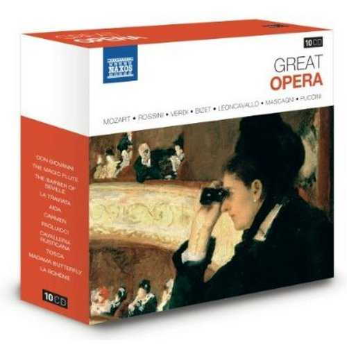 Naxos 25th Anniversary. The Great Classics (10 CD box set FLAC)