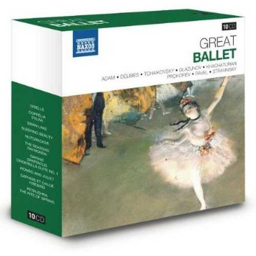Naxos 25th Anniversary. Great Ballet (10 CD box set FLAC)