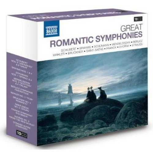 Naxos 25th Anniversary. Great Romantic Symphonies (10 CD box set FLAC)