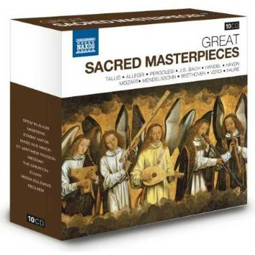 Naxos 25th Anniversary. Great Sacred Masterpieces (10 CD box set FLAC)
