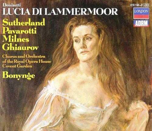 Bonynge: Donizetti - Lucia di Lammermoor (3 CD APE)