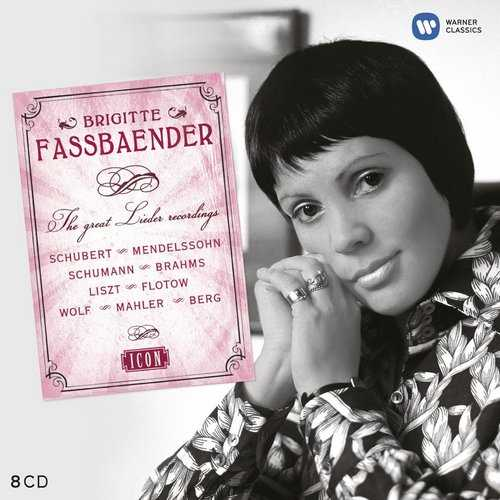 Brigitte Fassbaender - The Great Lieder Recordings (8 CD box set FLAC)
