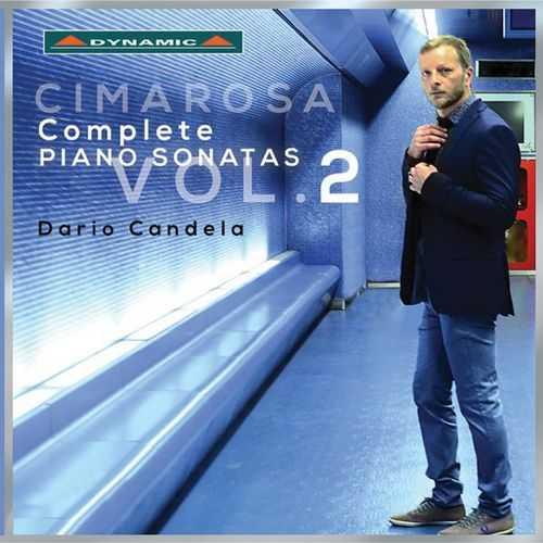 Candela: Cimarosa - Complete Piano Sonatas vol.2 (24/96 2 CD FLAC)