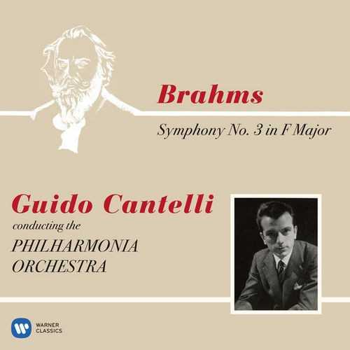 Cantelli: Brahms - Symphony no.3 op.90 (24/192 FLAC)
