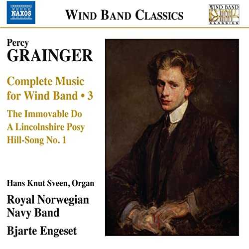 Engeset : Grainger - Complete Music for Wind Band Vol.3 (24/96 FLAC)