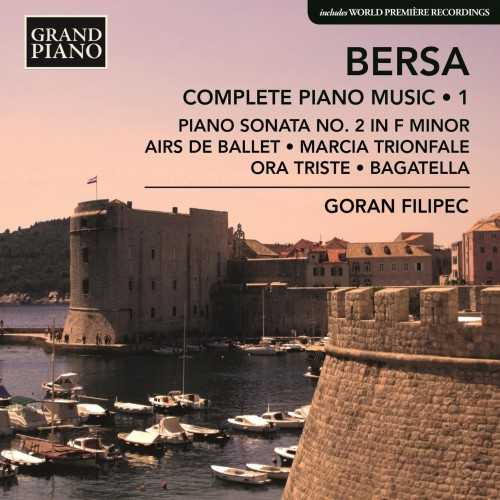 Filipec: Bersa - Complete Piano Works vol.1 (24/96 FLAC)