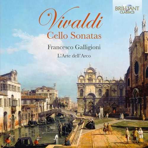Galligioni: Vivaldi - Cello Sonatas (24/88 FLAC)