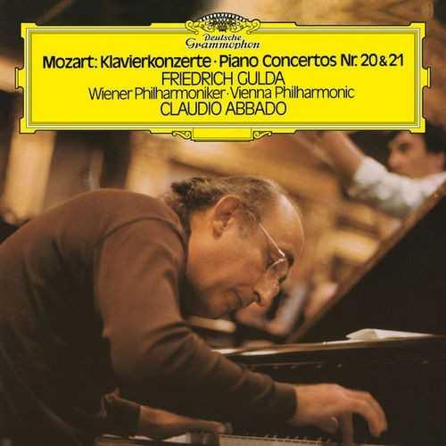 Abbado: Mozart - Piano Concertos no.20, 21 (24/192 FLAC)