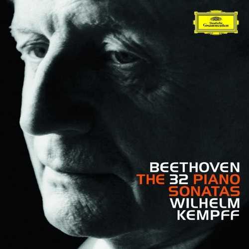 Kempff: Beethoven - The 32 Piano Sonatas (24/96 8 CD FLAC)