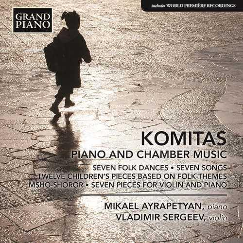 Komitas - Piano and Chamber Music (24/88 FLAC)