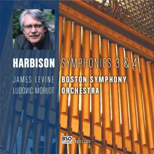 Levin: Harbison - Symphony no.3, 4 (24/88 FLAC)