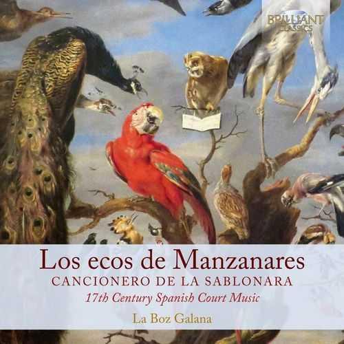 Los ecos de Manzanares - Cancionero de la sablonara (24/44 FLAC)